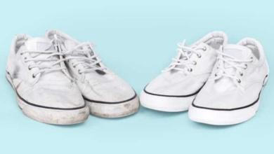 5 Receitas infalíveis para deixar calçado branco como novo d