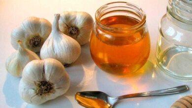 Mel de alho para gripe e pressão alta s