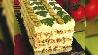 Foto de Torta Fria de Pão de Forma com Frango