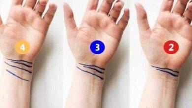 Photo of Você tem estas 4 linhas no pulso? Veja o que significa!