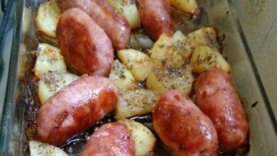 Como fazer linguiça de churrasco no forno