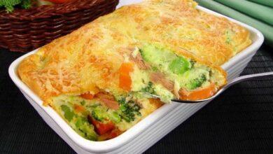 Foto de Receita de Suflê de Legumes prático