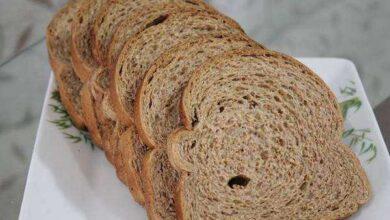 Foto de Receita saudável de pão integral macio e delicioso