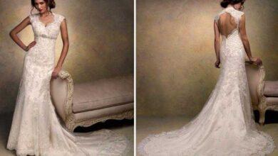 Foto de Vestidos de Noiva para Casamentos Diurnos
