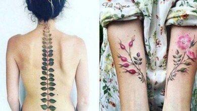 Foto de 12 Tatuagens delicas que foram inspiradas na mudança das estações