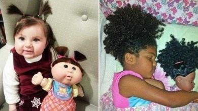 18 Crianças que são a cara de suas bonecas