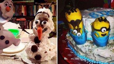 Foto de 20 Tentativas de fazer bolos que não deram certo