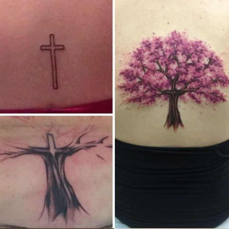 7 tatuagens criativamente consertadas