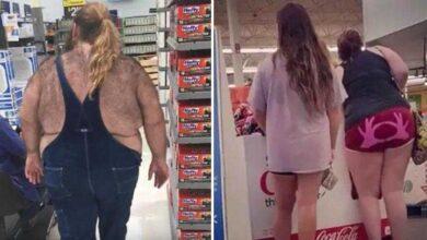 Foto de As 25 melhores e piores fotos de Clientes do Walmart