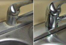 Foto de Como remover as manchas  da torneira