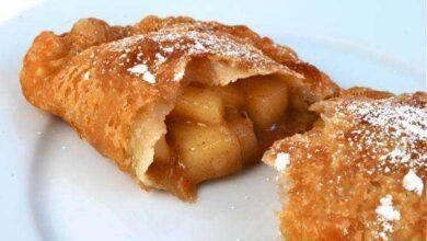 Foto de Receita de pastel de maçã e canela