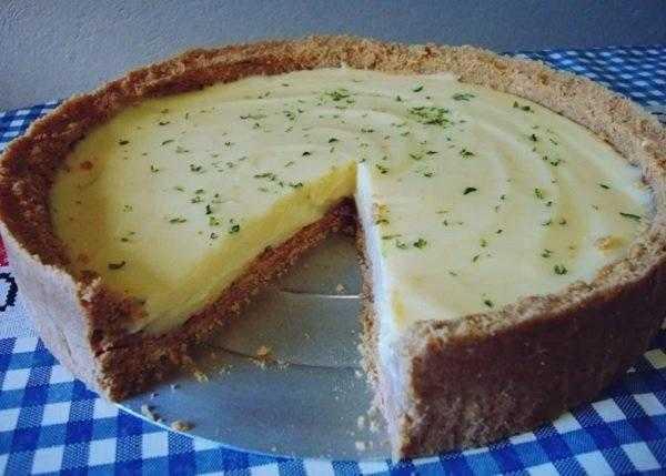 Receita de Torta de Limão Deliciosa