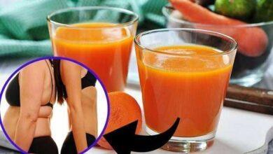 Suco detox de cenoura e limão faz perder 3 kgs em 1 semana