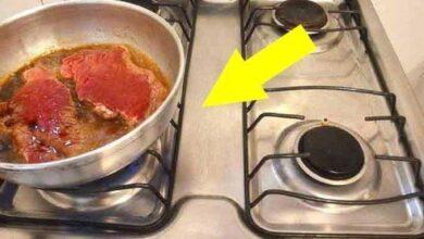 Truque para fritar bifes sem sujar o fogão