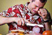 Foto de Como cortar cebola sem chorar