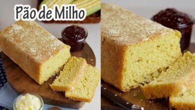 Foto de Receita de Pão de Milho de Liquidificador