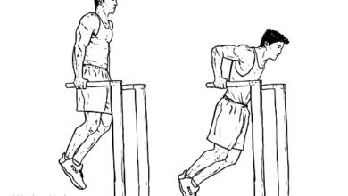 Foto de Os 5 melhores exercícios para tríceps