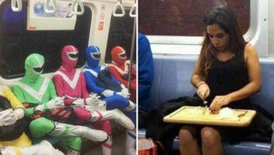 Foto de 12 Pessoas que não sabem como andar de metrô apropriadamente