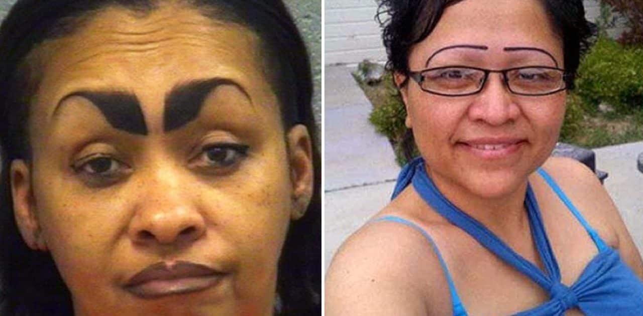 30 Mulheres que não fazem ideia de como as sobrancelhas devem ser