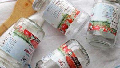 Photo of Como tirar cola de etiqueta ou rótulo de potes de plástico