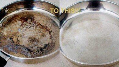 Foto de Como remover alimentos de fundo da panela com bicarbonato