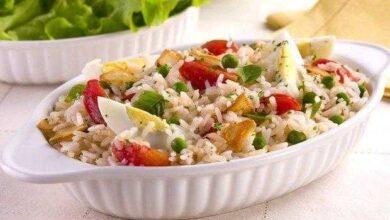 Foto de Receita de Salada de Arroz