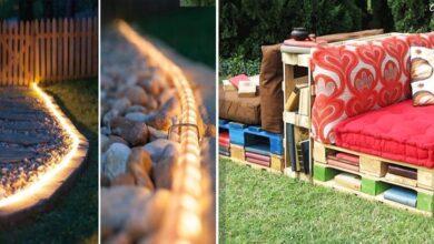 Foto de 21 Ideias que vão transformar o jardim/quintal