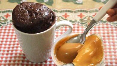 Foto de Receita de bolo de caneca de microondas