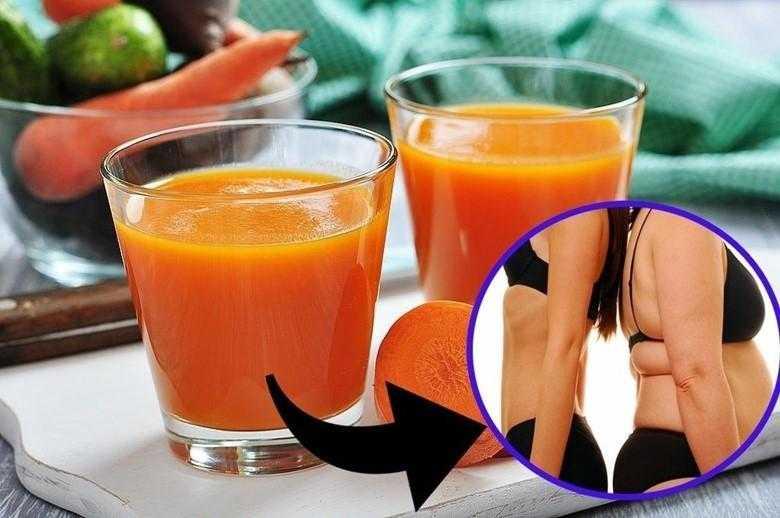 Suco detox de cenoura e limão para perder até 3 kgs em apenas 1 semana