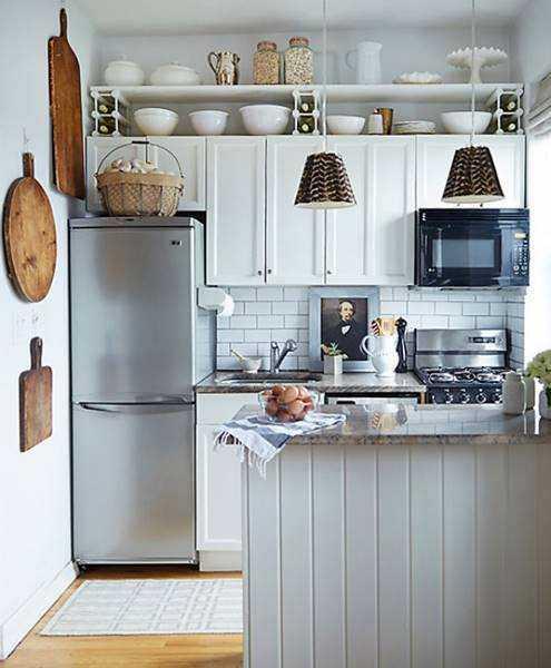20 ideias para aproveitar melhor uma cozinha pequena 13