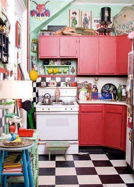 20 ideias para aproveitar melhor uma cozinha pequena 17