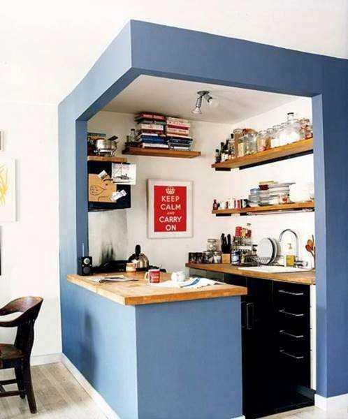 20 ideias para aproveitar melhor uma cozinha pequena 2