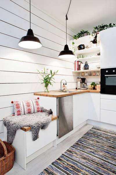 20 ideias para aproveitar melhor uma cozinha pequena 3