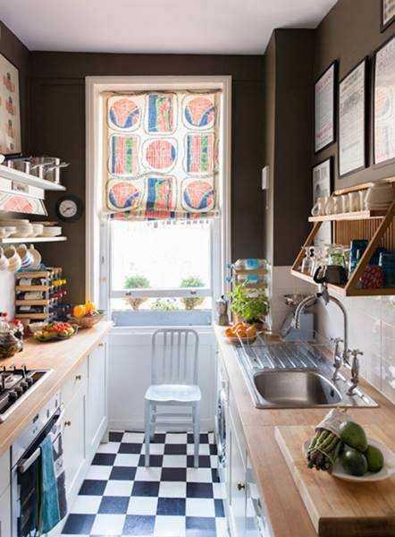 20 ideias para aproveitar melhor uma cozinha pequena 5