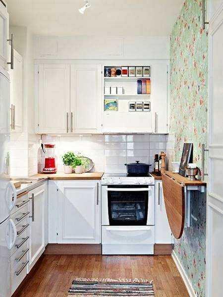 20 ideias para aproveitar melhor uma cozinha pequena