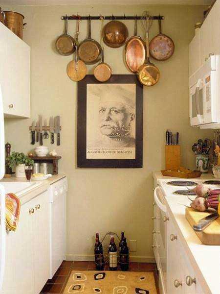 20 ideias para aproveitar melhor uma cozinha pequena 7