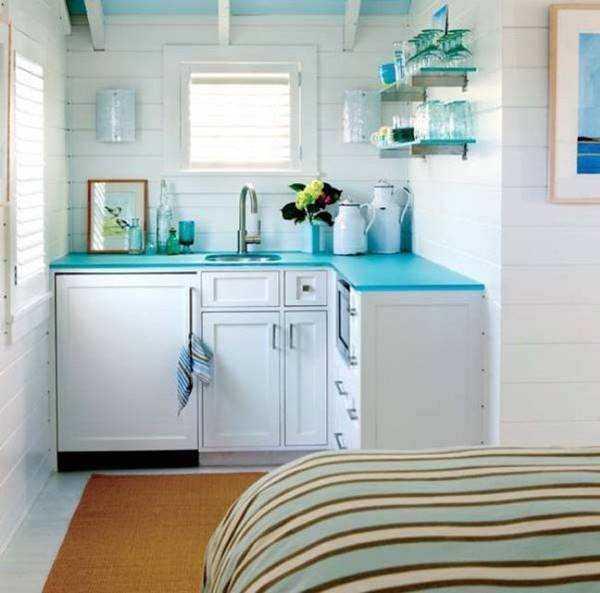 20 ideias para aproveitar melhor uma cozinha pequena 8