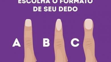 Photo of Descubra o que o formato dos seus dedos revela sobre você