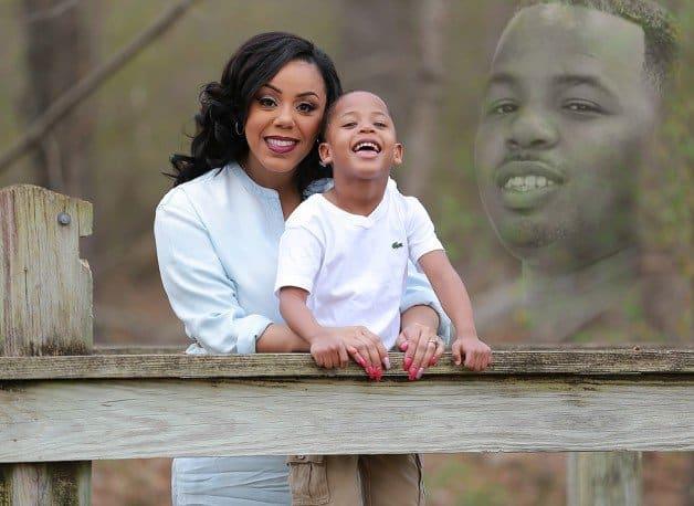Viúva grávida faz ensaio emocionante em homenagem ao marido