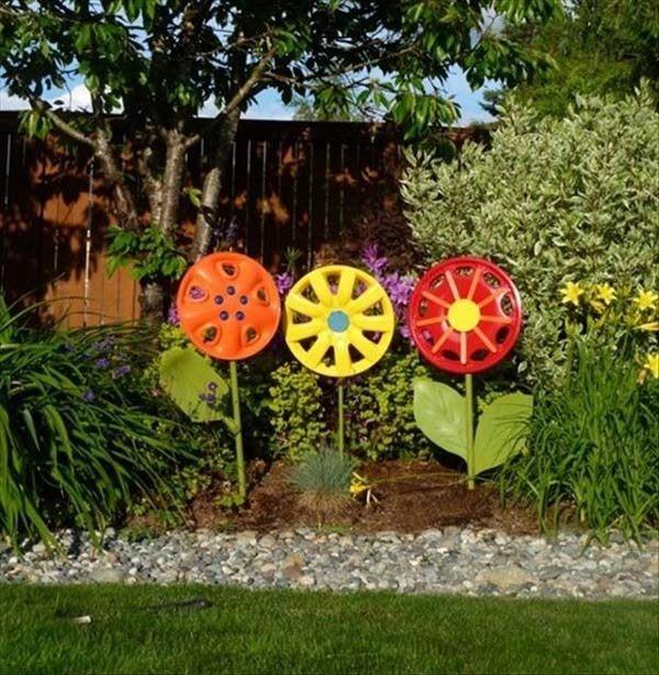 decoracao-de-jardim-com-reciclagem
