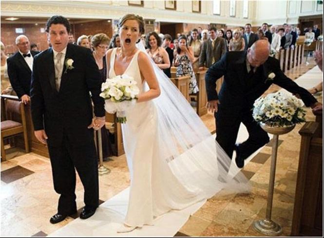19 fotos de momentos hilários ocorridos em casamentos