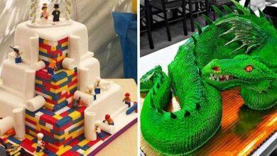 Foto de 15 bolos super criativos que dá até pena de comer