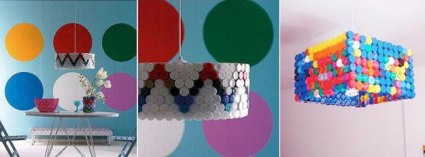 18 Ideias de Artesanato com Tampinhas de Garrafa Pet
