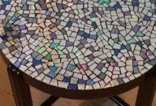 Foto de 21 Ideias de Artesanato para Mesa de Mosaico