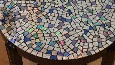 21 Ideias de Artesanato para Mesa de Mosaico d