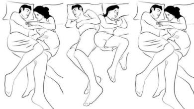 Como os casais dormem reflete muitos sobre eles