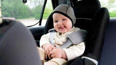 Foto de Como viajar de carro com o bebê