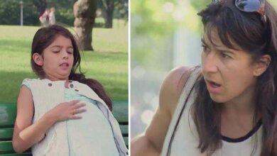 Foto de Eles ficam em choque ao ver menina grávida, mas fica pior ao ver o pai da criança