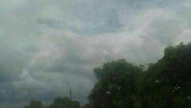 Foto de Nuvem estranha provoca pânico na internet
