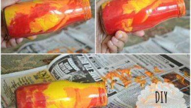 Como pintar vidro de conserva